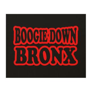 Impression Sur Bois Boogie vers le bas Bronx, NYC