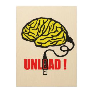 Impression Sur Bois Cerveau à décharger