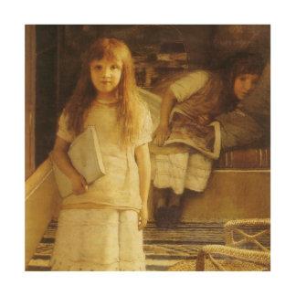 Impression Sur Bois C'est notre coin par monsieur Lawrence Alma Tadema