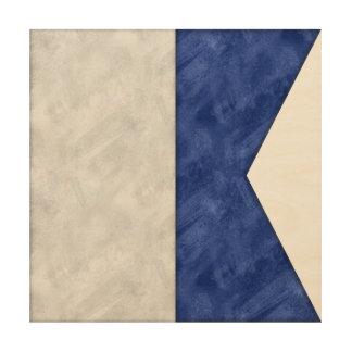 Impression Sur Bois Choisissez de 26 drapeaux maritimes nautiques