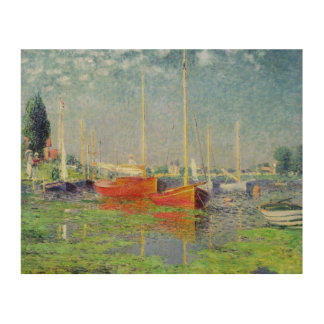 Impression Sur Bois Claude Monet   Argenteuil, c.1872-5