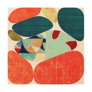Impression Sur Bois Collage 45
