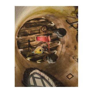 Impression Sur Bois Collage en bois d'art