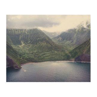 Impression Sur Bois Copie en bois cachée d'Hawaï