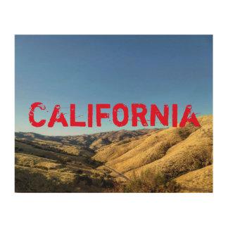 Impression Sur Bois Copie en bois de la Californie