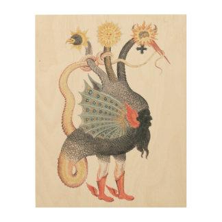 Impression Sur Bois Couleur de dragon d'alchimie