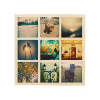 Impression Sur Bois Créez un instagram unique et original
