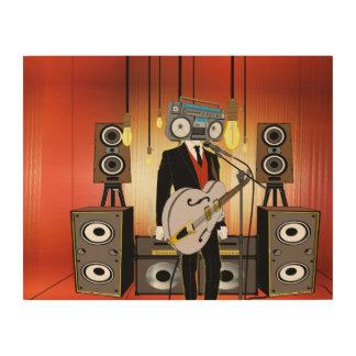 Impression Sur Bois Cru Audiophile