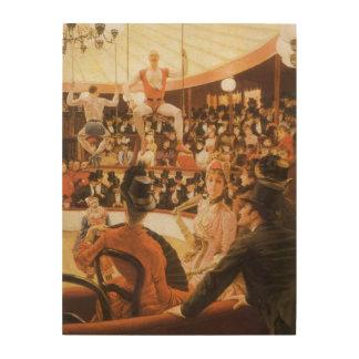 Impression Sur Bois Dames sportives (aka amant de cirque) par James