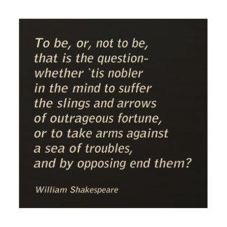 Impression Sur Bois ` De Hamlet de ` du ` s de William Shakespeare