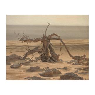 Impression Sur Bois dune de sable