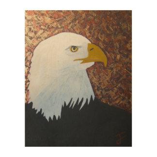 Impression Sur Bois Eagle chauve