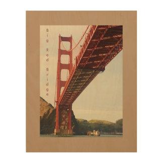 Impression Sur Bois Grand pont rouge