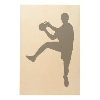 Impression Sur Bois Handball