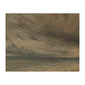 Impression Sur Bois John Constable - mer orageuse, Brighton