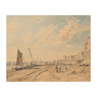Impression Sur Bois John Constable - plage de Brighton semblant