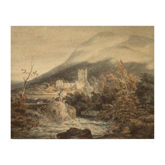 Impression Sur Bois Joseph Mallord William Turner - abbaye de