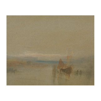 Impression Sur Bois Joseph Mallord William Turner - bateaux de pêche