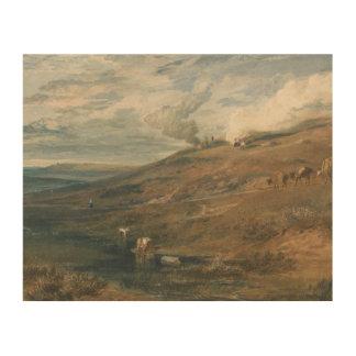 Impression Sur Bois Joseph Mallord William Turner - Dartmoor