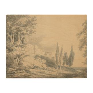 Impression Sur Bois Joseph Mallord William Turner - d'Este de villa