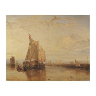 Impression Sur Bois Joseph Mallord William Turner - Dort ou Dordrecht