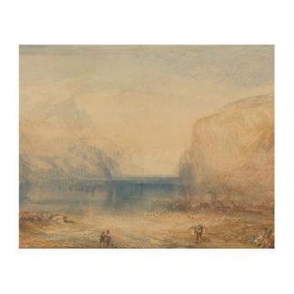 Impression Sur Bois Joseph Mallord William Turner - Fluelen - matin