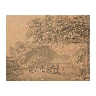 Impression Sur Bois Joseph Mallord William Turner - homme avec le