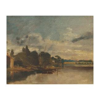 Impression Sur Bois Joseph Mallord William Turner - la Tamise