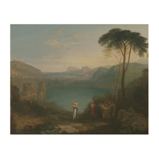 Impression Sur Bois Joseph Mallord William Turner - lac Avernus