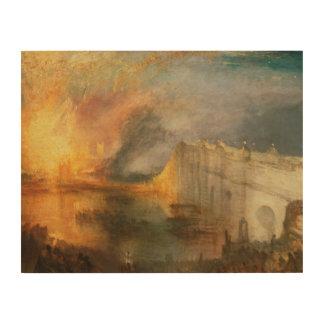 Impression Sur Bois Joseph Mallord William Turner - le Burning du