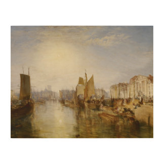 Impression Sur Bois Joseph Mallord William Turner - le port