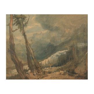 Impression Sur Bois Joseph Mallord William Turner - Mer de Glace