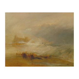 Impression Sur Bois Joseph Mallord William Turner - naufrageurs
