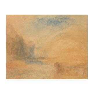 Impression Sur Bois Joseph Mallord William Turner - paysage de