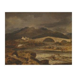 Impression Sur Bois Joseph Mallord William Turner - pont de Tummel