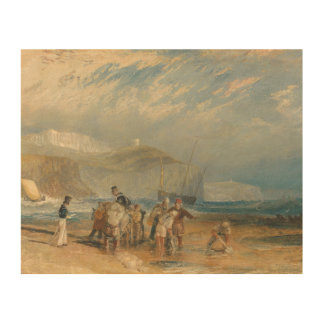 Impression Sur Bois Joseph Mallord William Turner - port de Folkestone