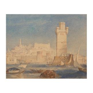 Impression Sur Bois Joseph Mallord William Turner - Rhodes