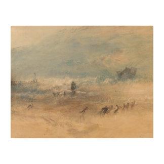 Impression Sur Bois Joseph Mallord William Turner - sables de Yarmouth