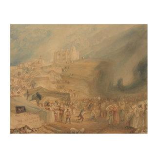 Impression Sur Bois Joseph Mallord William Turner - saint Catherine