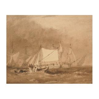Impression Sur Bois Joseph Mallord William Turner - scène d'expédition