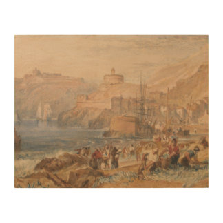 Impression Sur Bois Joseph Mallord William Turner - St Mawes, Cornwal