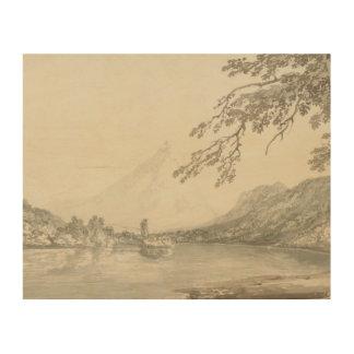 Impression Sur Bois Joseph Mallord William Turner - sur l'Aar entre