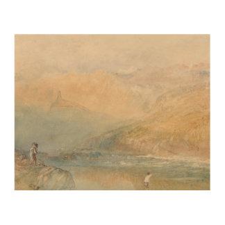 Impression Sur Bois Joseph Mallord William Turner - sur le Mosell