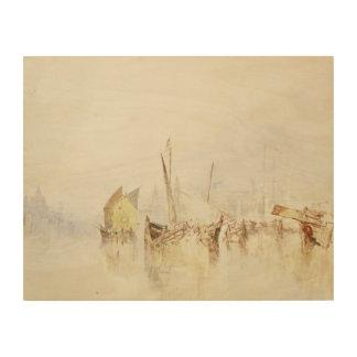 Impression Sur Bois Joseph Mallord William Turner - The Sun de Venise