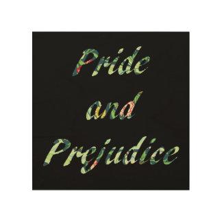 Impression Sur Bois La fierté et le préjudice de Jane Austen