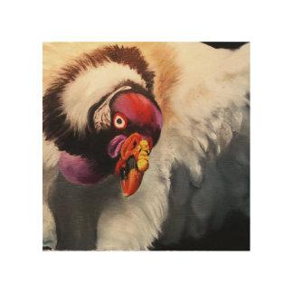 Impression Sur Bois Le Roi vautour