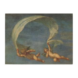 Impression Sur Bois Les anges détaillent d'Adonis ont mené par des