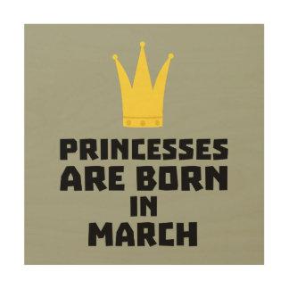 Impression Sur Bois Les princesses sont en mars Zhv17 nés