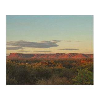 Impression Sur Bois Les Rois Canyon, Australie