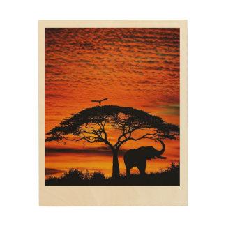 Impression Sur Bois Levers de soleil et couchers du soleil